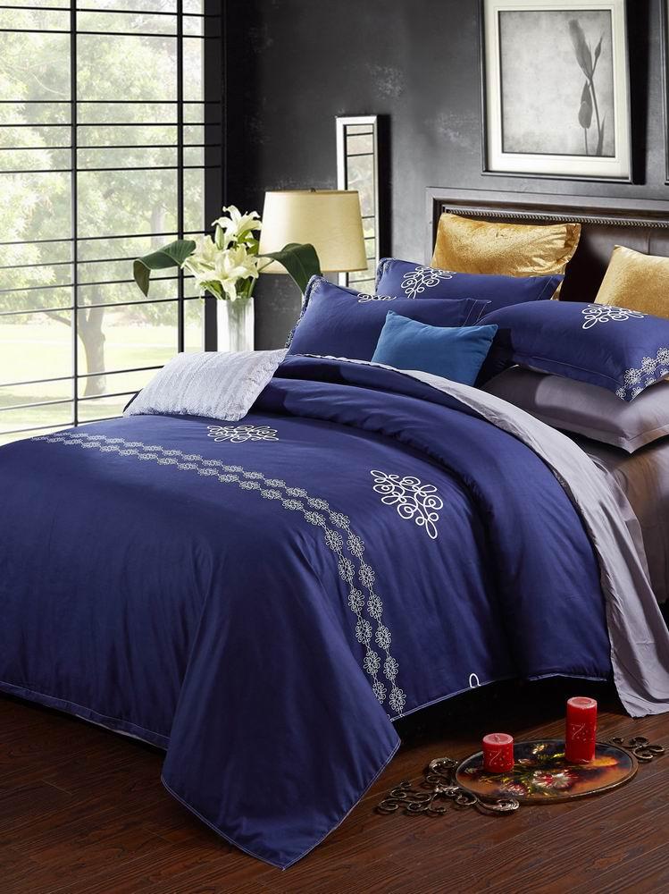 4 Pcs Bedlinens Set Double Size Classic Modern Style Ductile Comfy Bedding Set 4 Pcs Bedlinens Set Double Size Classic Modern Style Ductile Comfy Bedding Set