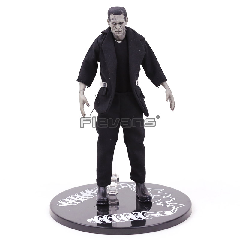 Mezco Toys Frankenstein Real clothes 1/12 Scale PVC Action Figure Collectible Model Toy frankenstein