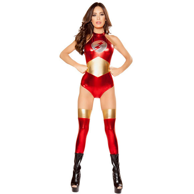 Stage Performance Flash Superhero Wonder Woman Costume Adult Halloween Costumes Sexy Cosplay Uniform Outfits Superwoman Bodysuit  sc 1 st  AliExpress.com & Stage Performance Flash Superhero Wonder Woman Costume Adult ...