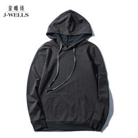 New Casual Mens Hoodies Warm Breathable Autumn Hoodie Fashion Solid Male Hooded Coats Long Sleeve Sweatshirt Men Outwear Trasher
