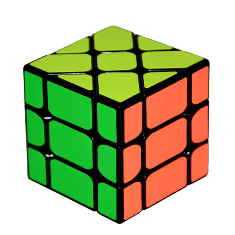 New Arrival YongJun YJ Speed 3X3X3 Fisher Cube Magic Cubes Speed Puzzle Learning Educational Toys For Children Kids cubo magico-in Magic Cubes from Toys & Hobbies