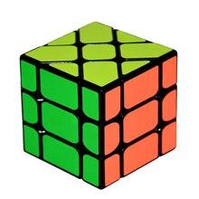 Nuovo Arrivo YongJun YJ Velocità 3X3X3 Fisher Magic Cube Cubi di Velocità Di trasporto Puzzle di Apprendimento Giocattoli Educativi Per I Bambini Bambini cubo magico