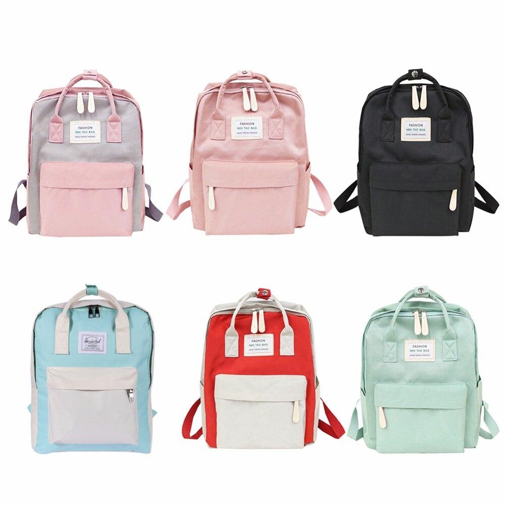 da5338020697 Купить Нейлоновые непромокаемые рюкзаки для девочек подростков, рюкзаки для  ноутбука, повседневные школьные рюкзаки на молнии, рюкзаки для женски.