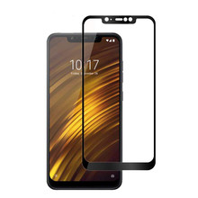 hot deal buy weeyrn protective glass for xiaomi pocophone f1 tempered glass for xiaomi pocophone f1 screen protector for xiaomi pocophone f1