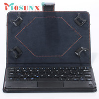 Ecosin2 Mosunx Universal 8 9 Inch Bluetooth Keyboard Leather Stand Case For PC Tablet 17Mar09