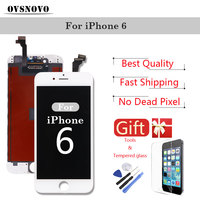 LCD Digitizer Assembly For IPhone 5 5s 6 6s 7 Display Replacement Touch Screen Parts Black