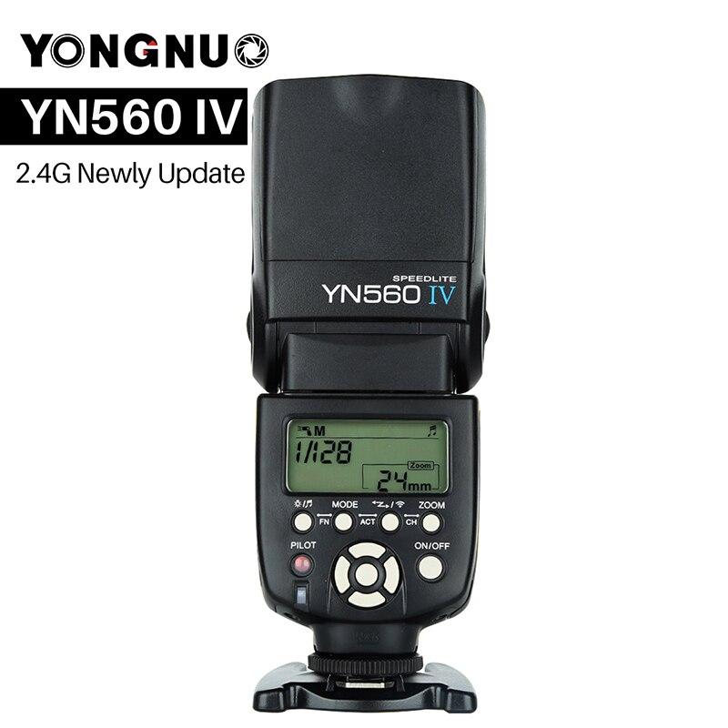 YONGNUO YN560 IV YN560IV Universal Wireless Master Slave Flash Speedlite for Nikon Canon Olympus Pentax DSLR Camera