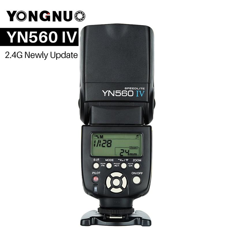 YONGNUO YN560 IV YN560IV Universel Sans Fil Maître Esclave Flash Speedlite pour Nikon Canon Olympus Pentax Appareil Photo REFLEX NUMÉRIQUE
