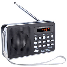 L 938 נייד דיגיטלי FM רדיו TF חריץ USB מיני רמקול עבור הקשישים משלוח חינם 12002014