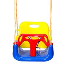 3 In 1 Multifunctional Baby Swing Hanging Basket Kindergarten Playground Baby Swing Children Toy Swings Outdoor Kids Toys Gifts(China)