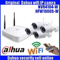 DAHUA 4ch 720 p NVR Kit Systemu P2P 720 P Kamera IP Zewnętrzna System chmura 4ch 720 p NVR Onvif 2.0 Łatwy Dostęp Obsługuje PC & Mobile widok