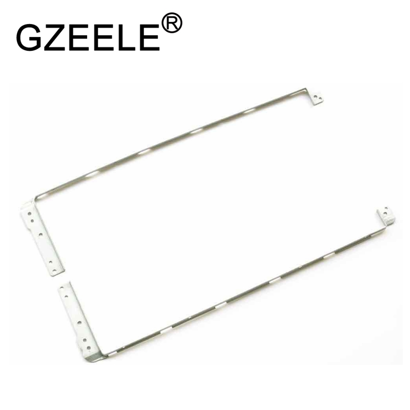 GZEELE NEW For HP Compaq Presario CQ70 G70 LCD Hinge Steel Bracket Left + Right 17