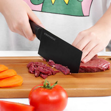 Stainless Steel Kitchen Knife Paring Fruit Knives Santoku japanese Chef Knife Slicing Meat Kitchen Knives For Knife Cooking Tool(China)