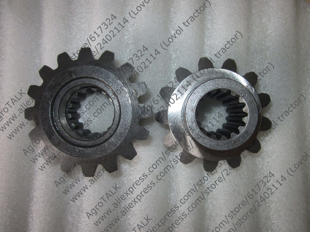 Jinma JM184-284 tractor parts, the set of driving gears, part number: 184.31.119 + 184.31.102