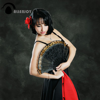 Allenjoy Thin Vinyl Cloth Photography Backdrop Dark Background For Studio Photo Pure Color Photocall Wedding Backdrop