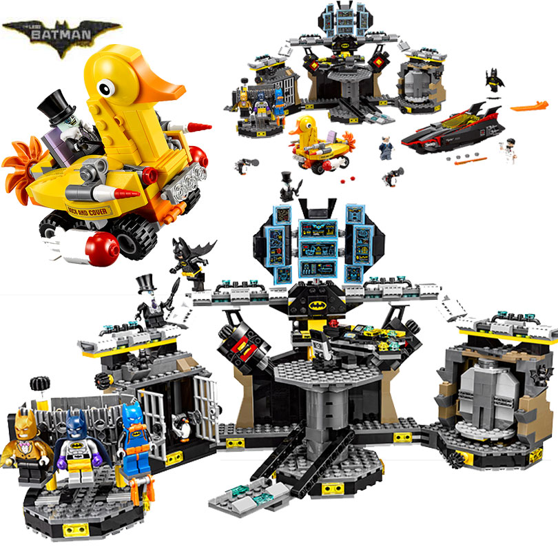 Bela 10636 Batman Movie Batcave Break-in Man-Bat Bricks Set Building Block Toys Batman Compatible with Legoings batman 70909 смартфон fly fs523 cirrus 16 lte black
