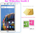 5pcs Super Clear Screen Protector Films for Wileyfox Swift 2 (Plus) Premium Transparent Screen Guard Protective Film Free Gifts
