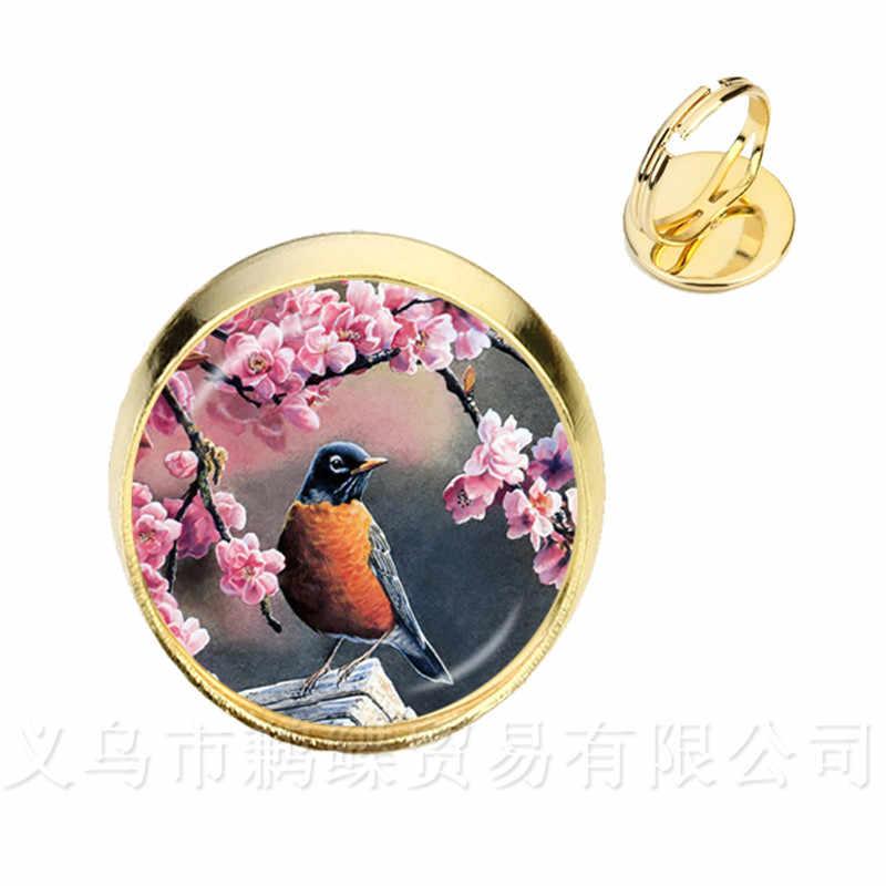 素敵なカナリア鳥チャームブレスレット女性のための宝石の手のチェーンシルバー/ゴールダーメッキ 2 色バングルのギフト