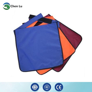 Image 3 - Genuine adult gonadal protection 0.5mmpb half lead apron medical gamma rays and x ray radiation protective square scarf