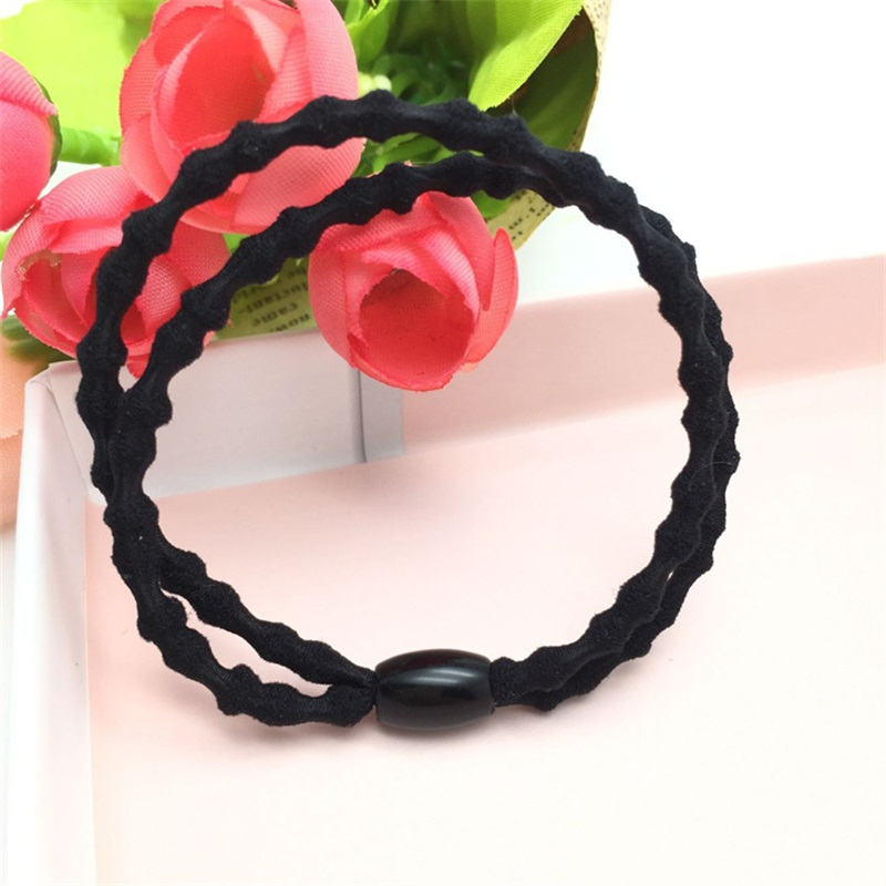 1PCS Double Wave Rope Hair Accessories For Women Headband,Elastic Band For Hair For Girls,Hair Band Hair Ornaments For Kids