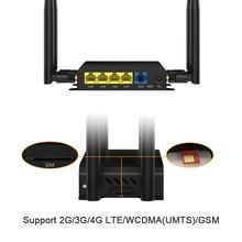 Industrial 4G LTE Router Sim Card WiFi Wireless Modem Extender Unlocked Band 1/3/5/7/20 Network Ready все цены