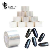 120m Roll Holographic Nail Foils Starry Sky Glitter Foils Nail Art Transfer Sticker Paper Nail Wraps