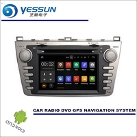 Car Multimedia Navigation System For Mazda 6 GH1 Ruiyi Ultra 2007 2012 CD DVD GPS Player
