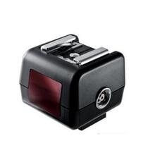 Bezprzewodowa lampa błyskowa adapter gorącej stopki konwerter optyczny wyzwalacz Slave FC 7SN dla Yongnuo Canon Nikon Speedlite do Sony lustrzanka cyfrowa