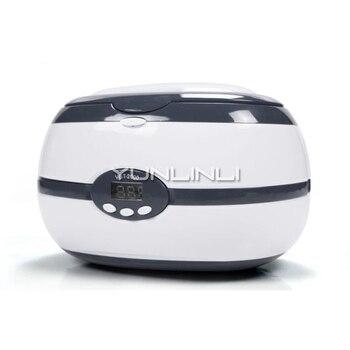 Ultrasonic Cleaner Household Mini Ultrasonic Cleaning Equipment Jewelry/Glasses Ultrasonic Washing Unit VGT-2000 clrlife ultrasonic