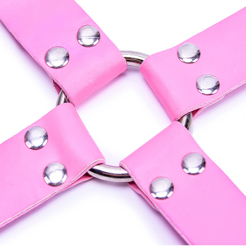 New Bondage Toys Exotic Jewelry New PU leather fur handkerchief ankle cuffs Sexy fun accessories Sex Handcuffs Sex for Coupple