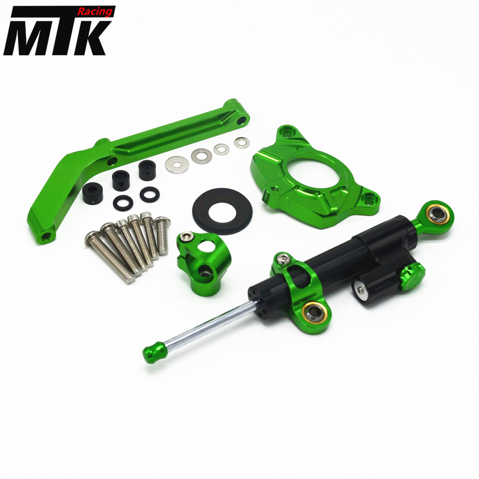 MTKRACIN Motorcycle cnc Universal Stabilizer Damper Complete Steering Mounting Bracket For KAWASAKI Z800 ZR800 2013-2015 for kawasaki z750 z800 z 750 z 800 universal motorcycle accessories stabilizer damper steering mounting all year