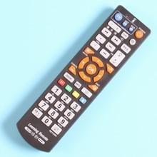 10 חתיכות שלט רחוק עם ללמוד פונקציה עבור טלוויזיה, STB, DVD, DVB, HIFI, סיטונאי L336 בקר.
