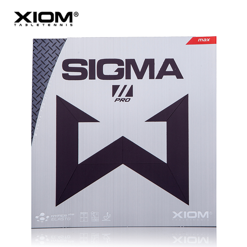 XIOM Original SIGMA 2 PRO Pimples In Table Tennis Rubber Pips In Ping Pong Sponge Tenis