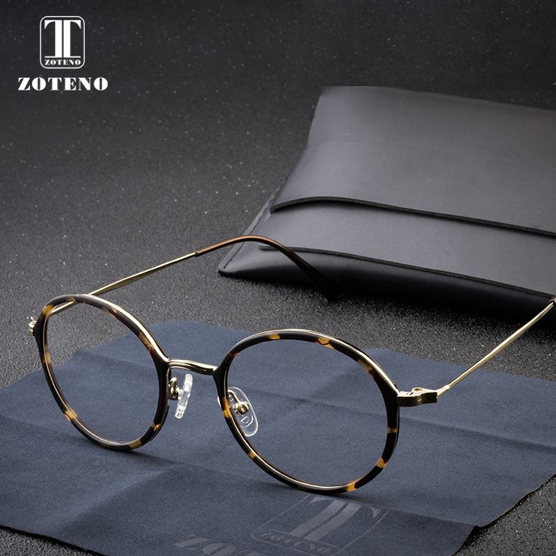 130182736c TR90 Round Clear Glasses Frame Computer Myopia Optical Prescription Clear  Lens Eye Glasses Frames For Women High Quality  2163