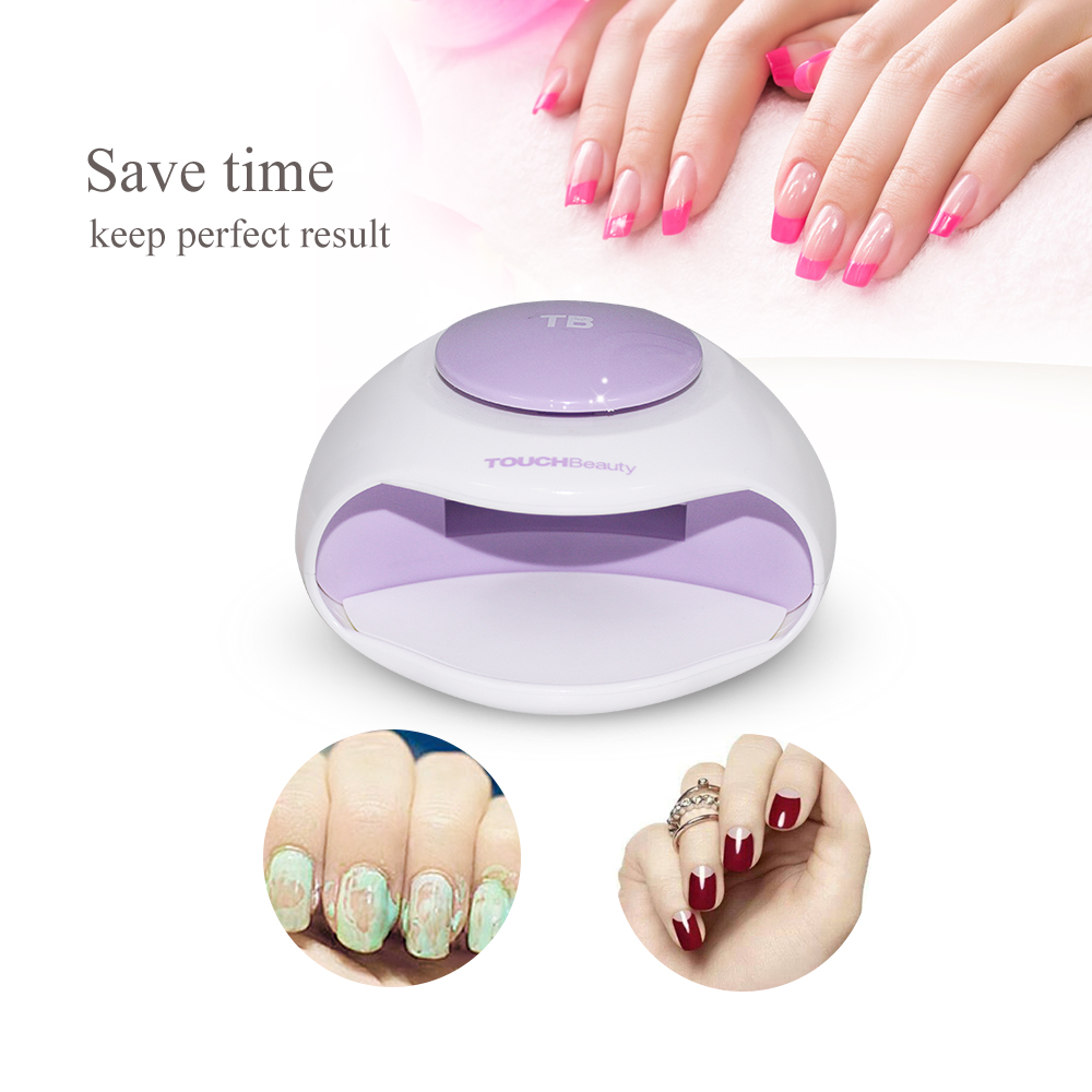 TOUCHBeauty Portable Nail Dryer with Air and LED Light Good for ...