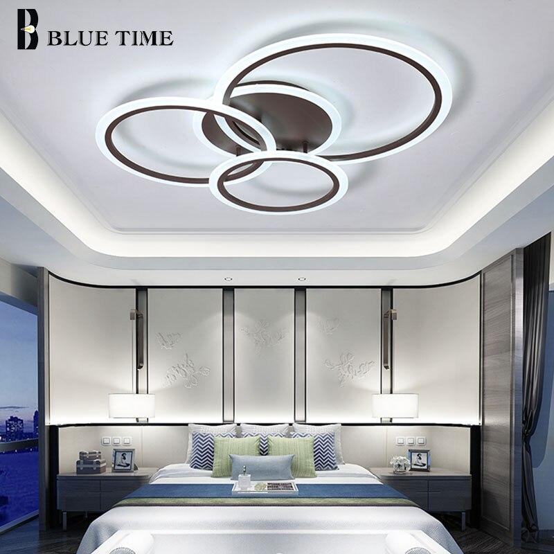 Plafonniers Led pour salon chambre cuisine Lustre acrylique plafonnier monté en Surface intérieur luminaires