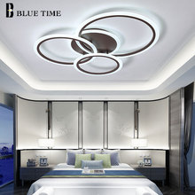 new style acrylic ceiling lamp creative art circular led ceiling lights for dinning room living room bedroom indoor lighting Led Ceiling Lights For Living room Bedroom Kitchen Lustre Acrylic Ceiling Lamp Surface Mounted Indoor Home Lighting Fixtures
