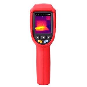 Image 2 - UNI T UTi80 тепловизионная камера цифровой термометр Imager инфракрасная камера 4800 пикселей цветной экран с высоким разрешением