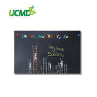 Magnetic Chalkboard Sheets 90 x 60 cm with Self adhesive wall Sticker Hold Magnets for Kids Gifts