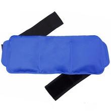 再利用可能なアイスパックセットマルチユースゲルラップホットとコールドボディポータブル手首膝弾性ストラップショルダーソフト疼痛緩和クーラーバッグ