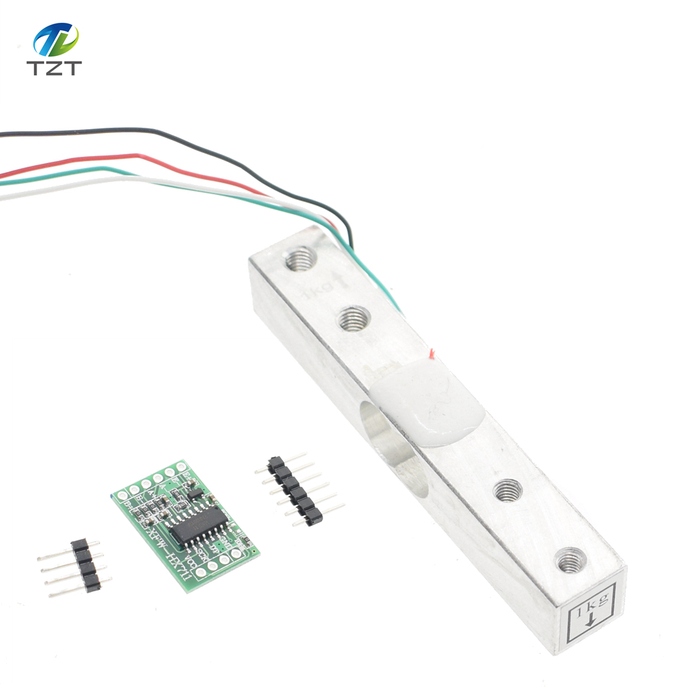 Digital Load Cell Weight Sensor 1KG 5KG 10KG 20KG Portable Electronic Kitchen Scale + HX711 Weighing Sensors Ad Module