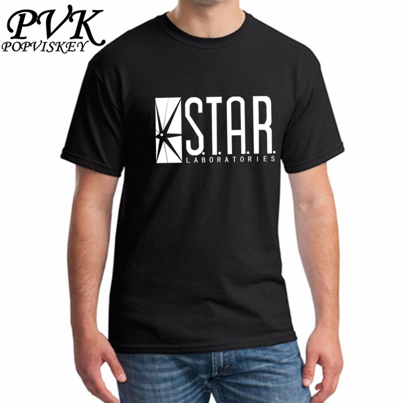 Star Labs New Fashion T Shirt Men Summer Tops Tees Jumper
