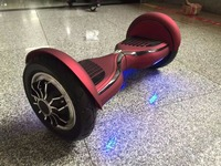 New Arrival 10 Inch Smart 2 Wheels Electric Scooter With Bluetooch Speaker Electric Hoverboard With Big