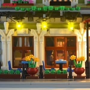 Image 3 - Mtele Thương Hiệu Đèn LED Lên Bộ Cho 10243 Nhà Hàng Nhà Người Tạo Chuyên Gia Thành Phố Chiếu Sáng Đường Phố Bộ (Không Bao Gồm Mô Hình)