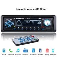 12 V Radio Samochodowe Stereo Audio AUX-IN Telefonu Bluetooth Odtwarzacz MP3 FM/USB/1 Din/Zdalnego Sterowania Autoradio