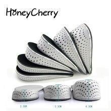 Demi-semelle respirante pour chaussures de sport, 1 paire, semelles unisexes 2-4cm