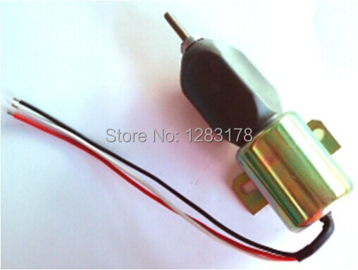 Stop solenoid 1700-1519 1751ES-24E3ULB1S5 shutdown engine for Woodward купить