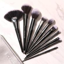 10 шт. Профессиональные кисти для макияжа косметический набор кистей для макияжа Высокое качество Maquiagem Professional Completa