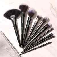 10Pcs di Trucco Professionale Pennelli Cosmetici Make Up Brush Set di Alta Qualità Maquiagem Professionale Completa