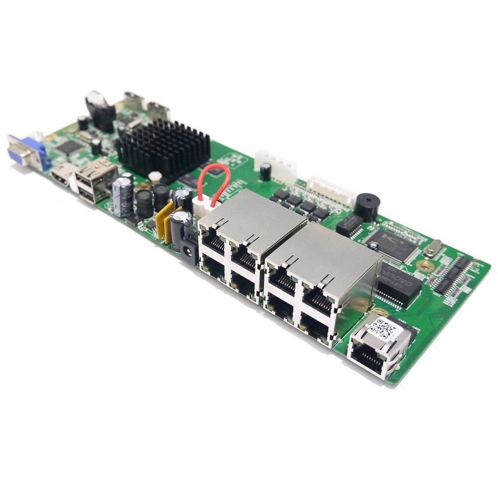 Cctv H 265 Network 8 Channel 4 0mp Poe Nvr Board 4 Channel